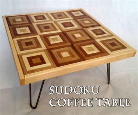 End Table Plans Woodworking 16x16 Sudoku Answers