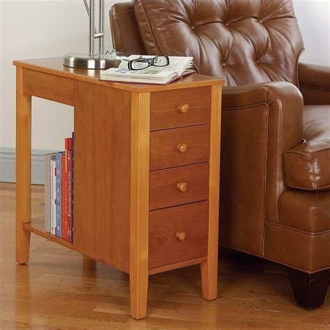 End Table With Drawer Plans