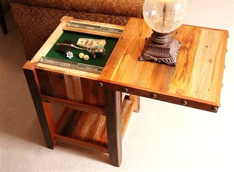 End-Table-With-Storage-Plans-Secret-Compartment