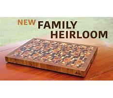 Best End grain cutting board plans.aspx