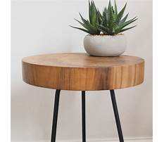 Best End table tree trunk