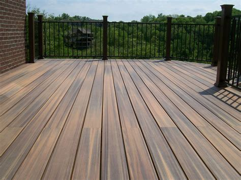 Engineered Wood Decking Material