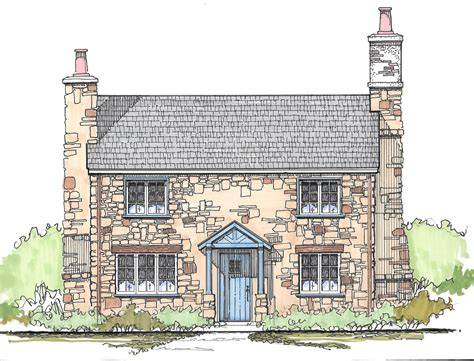 English Country Cottage Floor Plans