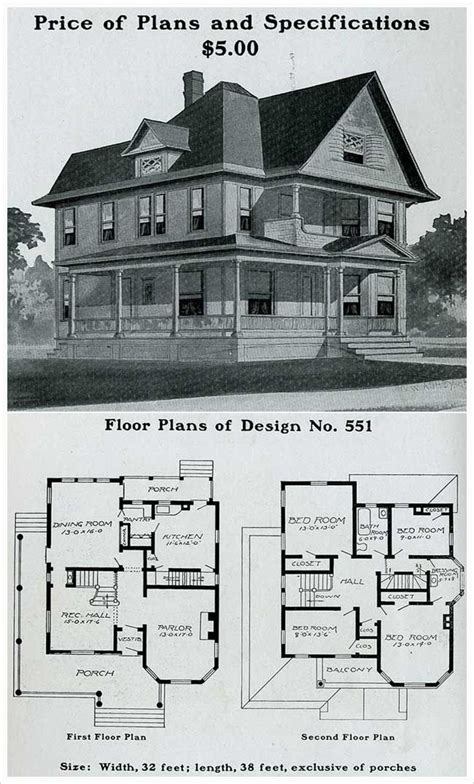 English Farmhouse House Plans