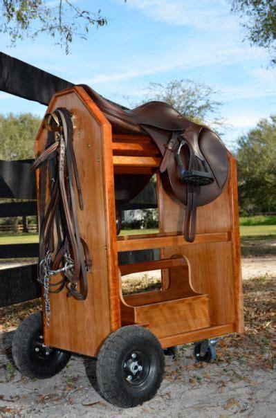 English-Saddle-Rack-Plans