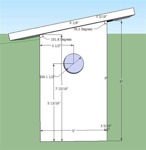 English-Sparrow-Bird-House-Plans