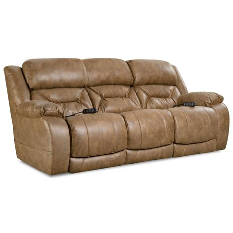 Enterprise Casual Power Reclining Sofa With Power Headrests By Homestretch