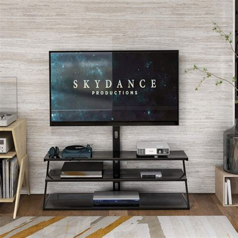 Entertainment center swivel stand Image