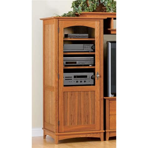 Entertainment center tower cabinet Image