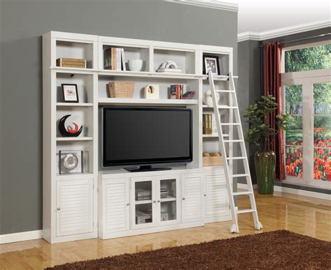 Entertainment-Center-With-Bookcase-Plans