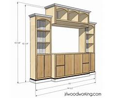 Best Entertainment center woodworking plans free