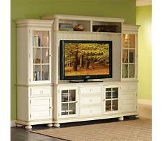 Best Entertainment centers off white