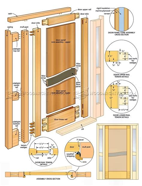 Entry-Door-Woodworking-Plans