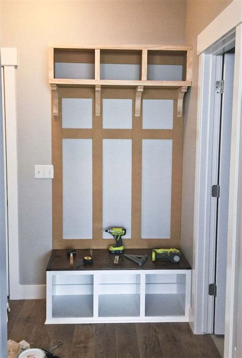 Entry-Room-Bench-Plans