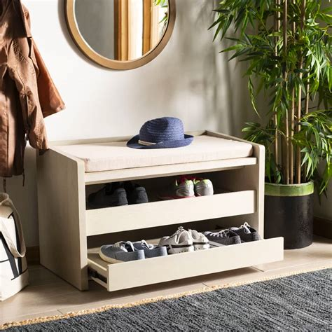 Entryway Bench Plans With Pull Out Drawers