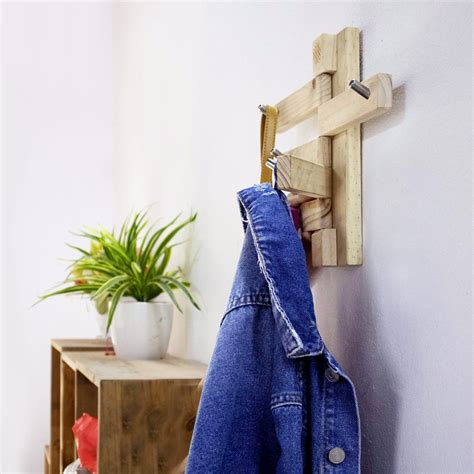 Entryway Coat Rack Plans Dowels Fold Away