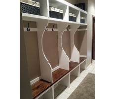 Best Entryway lockers with bench plans
