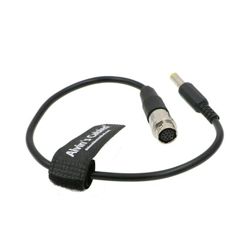 Eonvic cables- DC 12v Male to 12 Pin Hirose Cable GH4 Power B4 2/3' Fujinon Canon Nikon Lens