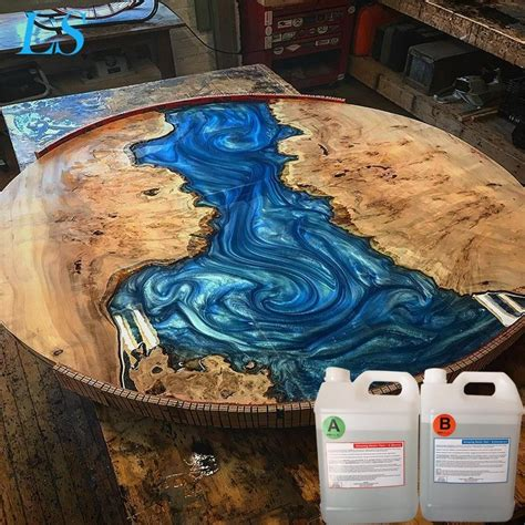 Epoxy River Table Diy Hardware