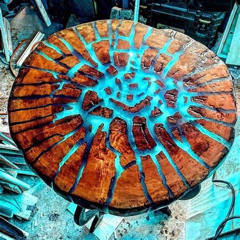 Epoxy Wood Table Diy Images