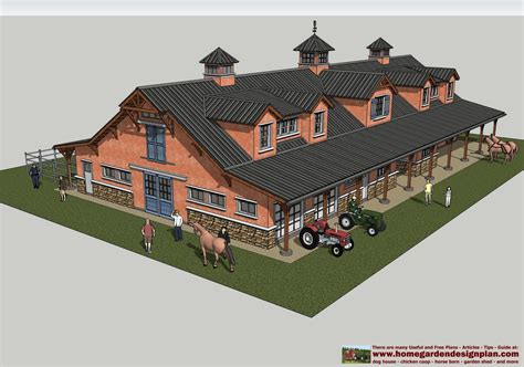Equine Stable Plans