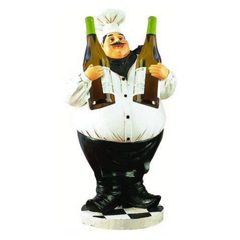 Essential Decor And Beyond Wine Chef Holder By Entrada