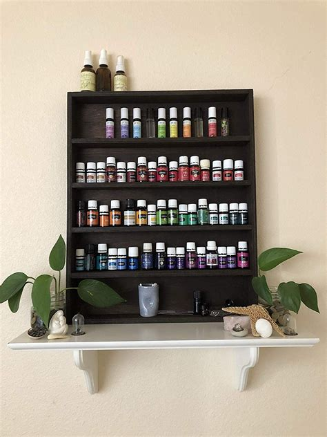 Essential Oil Rack Display