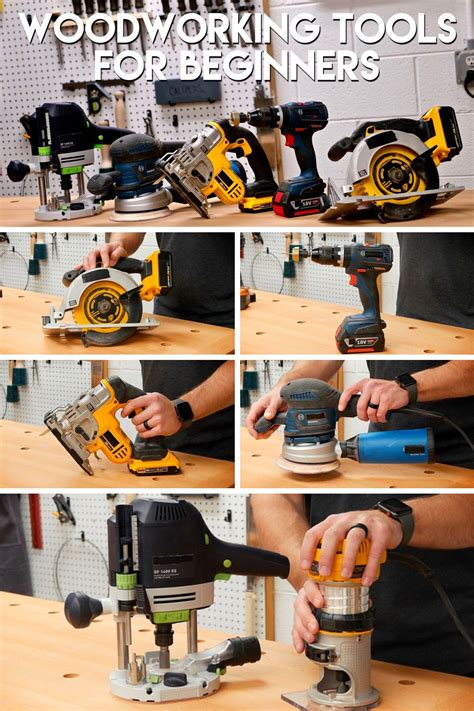 Essential Woodworking Tools For A Beginner