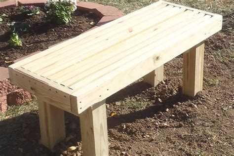 Estimate To Build A Simple Deck Bench