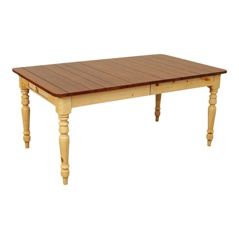 Ethan-Allen-Farmhouse-Dining-Table