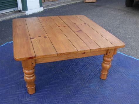 Ethan-Allen-Farmhouse-Pine-Coffee-Table