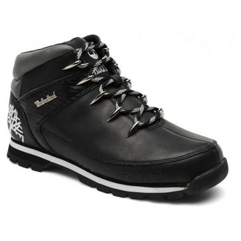Euro Sprint Mens Boots Black