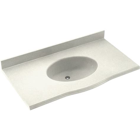 Europa Solid Surface 61 Single Bathroom Vanity Top