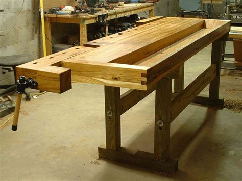 European-Woodworking-Bench