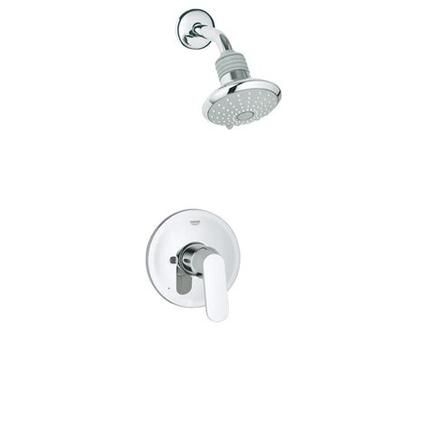 Eurosmart Cosmo Volume Control Shower Faucet With Lever Handle