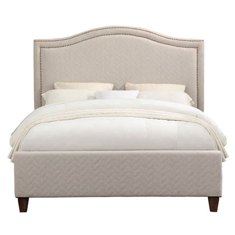 Eustacio Back Quilted Upholstered Panel Headboard