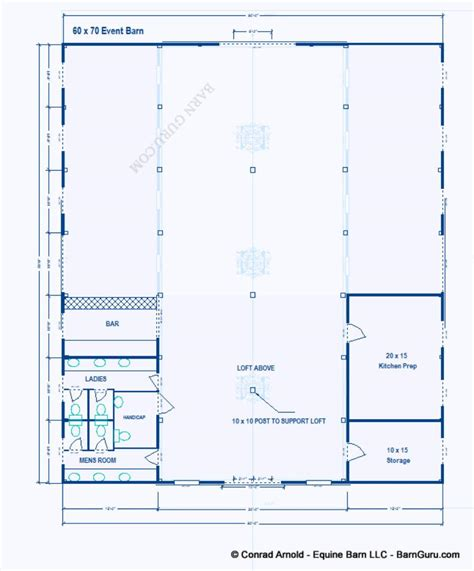 Event Barn Floor Plans