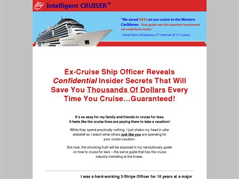@ Ex-Cruise Ship Officer Reveals Insider Secrets Of The Cruise Industry.
