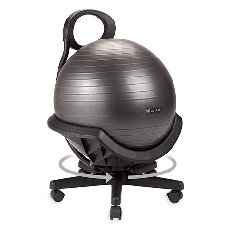 Exercise Ball Chair Plan