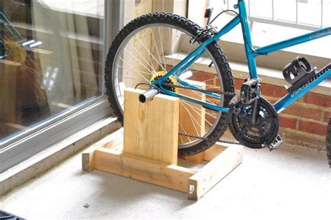 Exercise Bike Stand DIY
