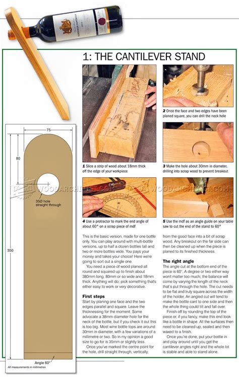 Exotic Wood Wine Caddy Plans