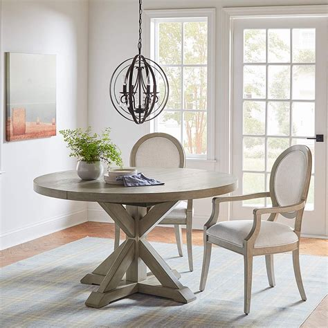 Expandable Dining Table Distressed