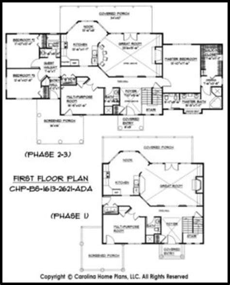 Expandable House Plans 2 Stage