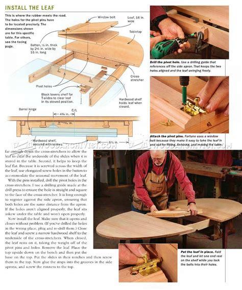 Expanding-Table-Plans-Kits