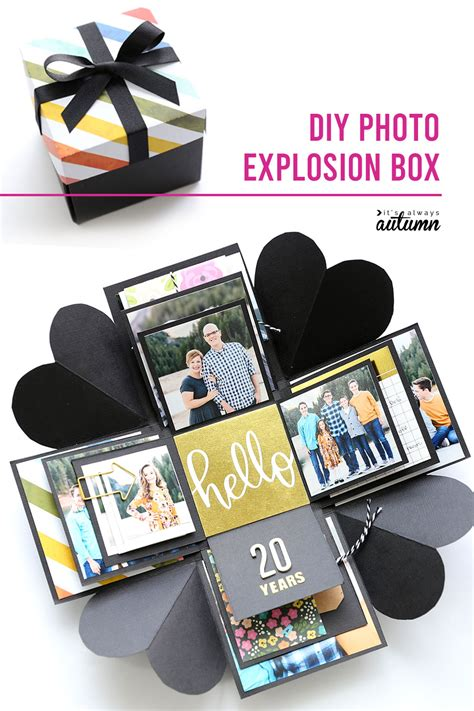 Exploding Gift Box Diy Simple