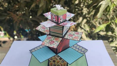 Explosion Diy Box Tutorial