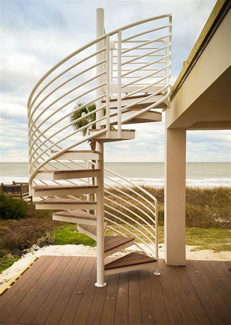 Exterior Wood Spiral Staircase Plans