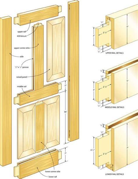 Exterior-Door-Wood-Paneling-Plans