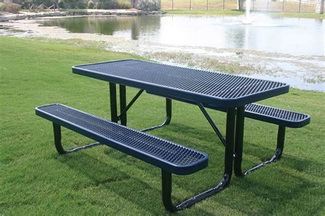 Extra Long Aluminum Commercial Picnic Tables