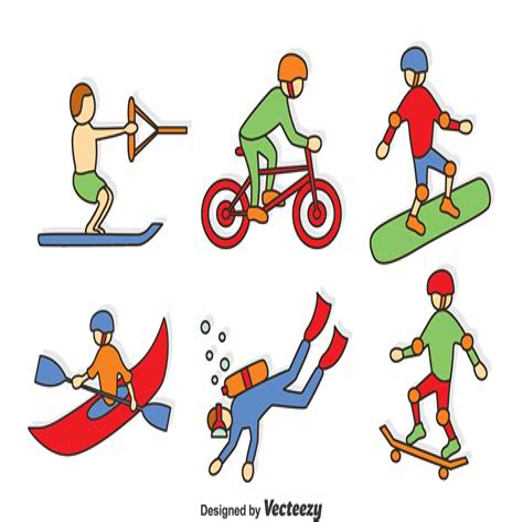 Extreme Sports Clip Art